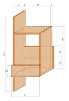 レコロ架台用の組立て図